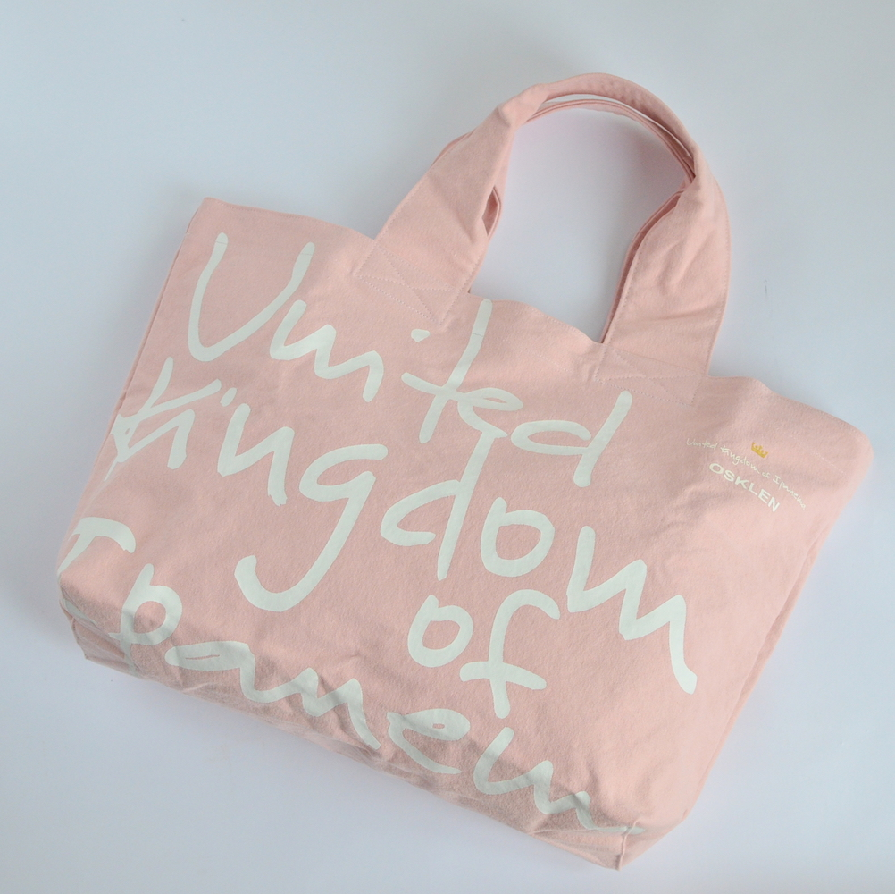 OSKLEN(オスクレン) UKI バッグ Large (Pink)