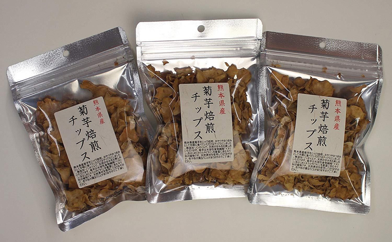 菊芋 国産 チップス キクイモ 30g 3袋 キャッシュレス ポイント還元 消費者還元