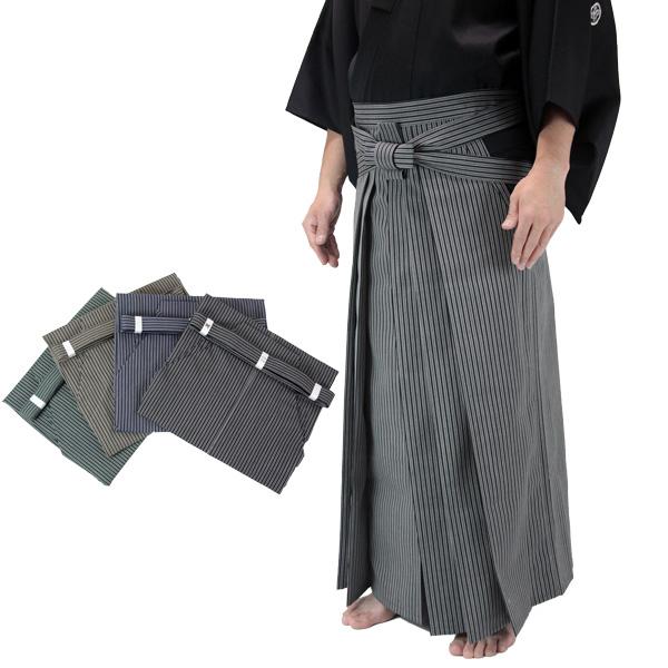 京都西陣仕立 最高級居合道縞袴【居合道 居合道着 袴】