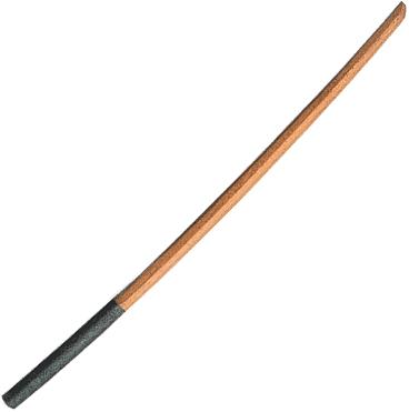 拭漆柄波型 白樫特製 大刀