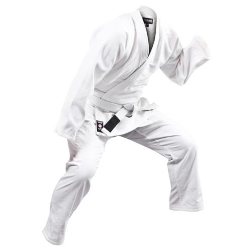 【ISAMI】入門用一重刺子軽量柔術衣3点セット(白)【柔術着】