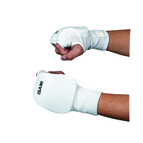 Fist supporters (1 pair) (white / black)