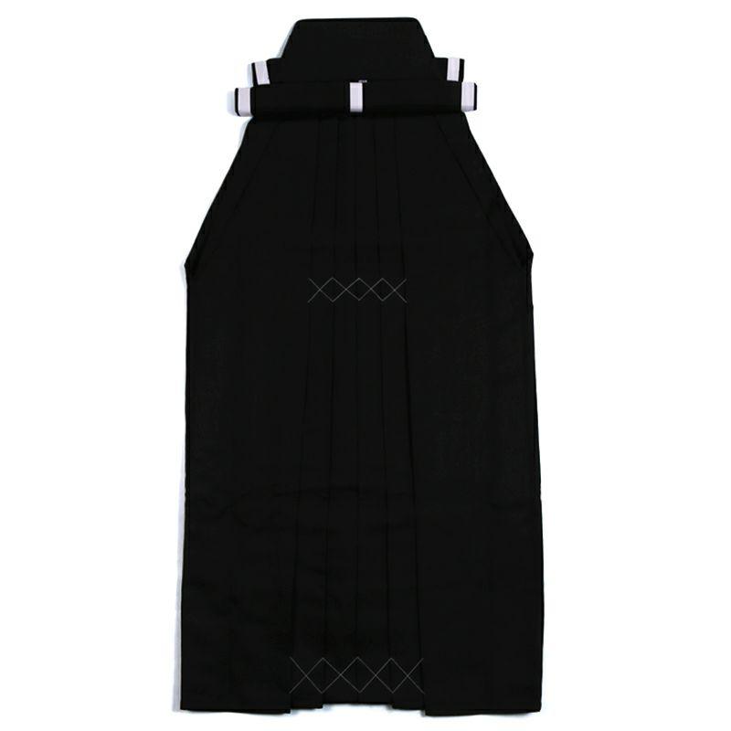 楊柳(ようりゅう) 弓道袴 黒色 男性用 27・28号 馬乗型