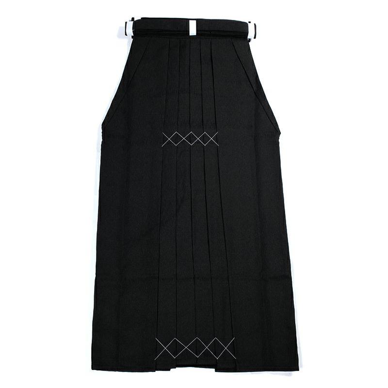 楊柳(ようりゅう) 弓道袴 黒色 女性用 27・28号 馬乗型