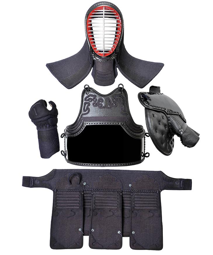 人気アイテム 1.5分紺革銃剣道防具セット, ひとみコンタクト:8f4649d9 --- crisiskw.com