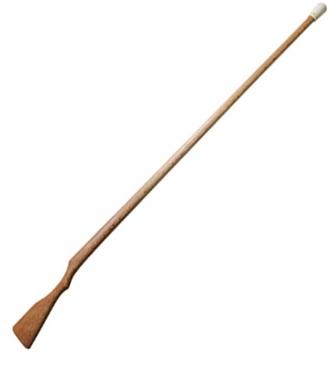 赤樫製 銃剣道用長木銃 国体用