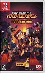 百貨店 大注目 新品 NSW Minecraft Dungeons Hero 着日指定 メール便発送のみ Edition 代金引換発送は出来ません 送料込み