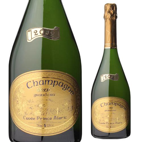 ドミニク フルール キュヴェ プリンス アラリック [2012] グランクリュ 750ml [シャンパン][シャンパーニュ][アンボネ]