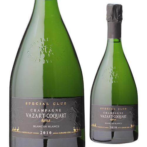 ヴァザール コカールスペシャルクラブ [2010] ブラン ド ブラン 750ml[グランクリュ][シュイィ][シャンパン][シャンパーニュ][自然派ワイン][ヴァン ナチュール]