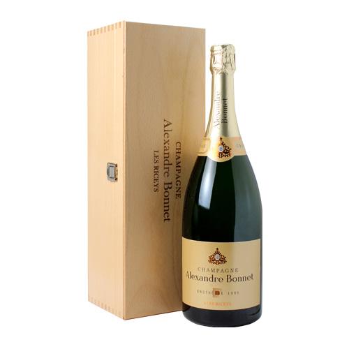 アレクサンドル ボネ トレゾール カシェ エノテーク [1995] リミテッドエディション マグナム 1,500ml (1.5L) 木箱入 [BOX][限定品][シャンパン][シャンパーニュ