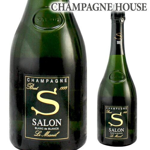 【P10倍】 1/19 0:00~/28 1:59までサロン ブラン ド ブラン [1999] 750ml[シャンパン][シャンパーニュ]
