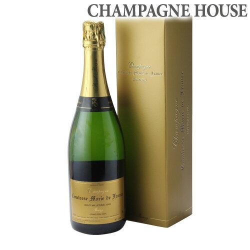 ポール バラグランクリュ コンテス マリー ド フランス [2005] 750ml[シャンパン][シャンパーニュ][限定品][プレゼント][記念日]