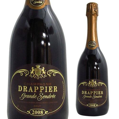 ドラピエ グラン サンドレ 2008 並行品 750mlシャンパン シャンパーニュ