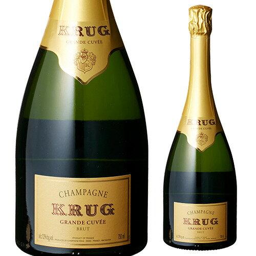 ≪9月価格≫クリュッグ グラン キュヴェ ブリュット 750ml[並行品][シャンパン][シャンパーニュ][Krug][プレゼント][贈り物][ギフト]