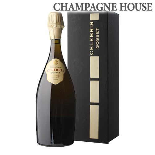 ゴッセ セレブリス エクストラブリュット [2004] 750ml[BOX][並行品][シャンパン][シャンパーニュ][箱付][ギフト][プレゼント][セレブレス]