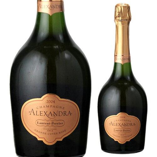 ローラン ペリエ ロゼ キュヴェ アレクサンドラ [2004] 750ml[並行品][シャンパン][シャンパーニュ]【お一人様1本まで】