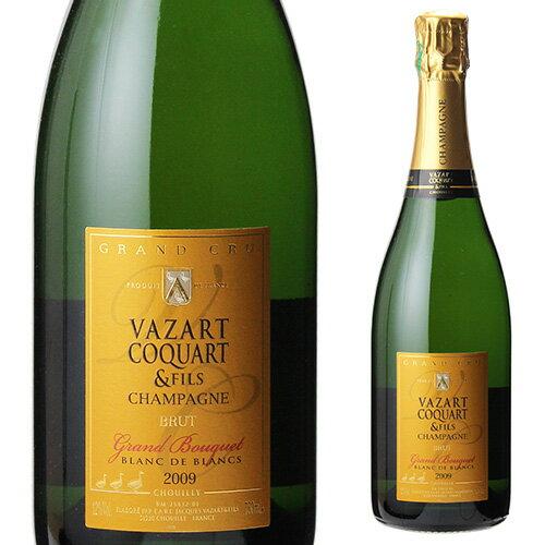 ヴァザール コカール グラン ブーケ グランクリュ 2012 750ml シャンパン シャンパーニュ自然派ワイン ヴァン ナチュール
