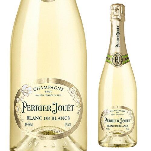 ペリエ ジュエ ブラン ド ブラン NV 750ml[シャンパン][シャンパーニュ][花柄][ブレゼント][記念][祝い]【お一人様1本まで】
