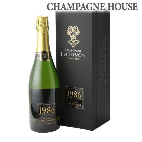 ジ ド テルモン ヘリテージ ブリュット [1986] 750ml[シャンパン][シャンパーニュ][古酒][プレゼント][記念日][祝い]