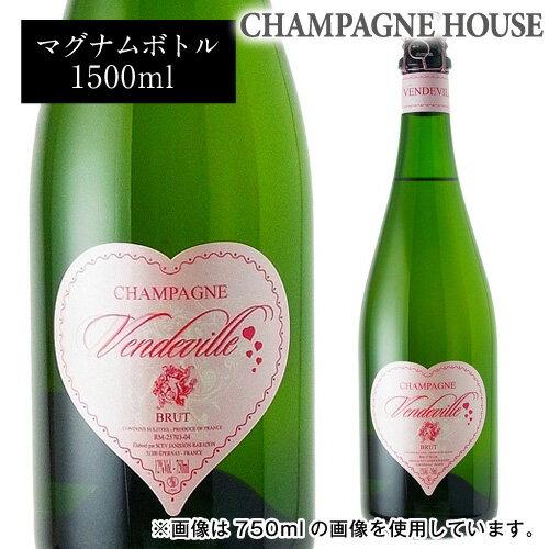 ジャニソン バラドン ヴァンドヴィルマグナム 1.5L(1500ml) [シャンパン][シャンパーニュ][正規品][限定品][プレゼント][記念日][祝い]【バレンタイン】