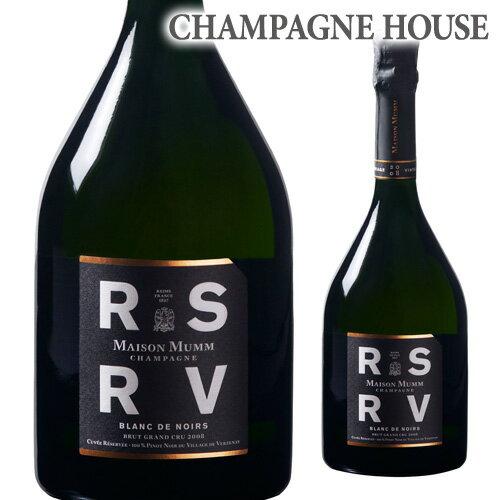 メゾン マム RSRV ブラン ド ノワール [2008] 750ml [正規品][シャンパン][シャンパーニュ][限定品][アール エス アール ヴイ]