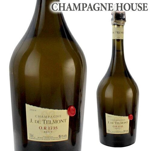 ジ ド テルモン O.R 1735 ブリュット グランクリュ [2004][オリジナルナイフ付][限定品][シャンパン][シャンパーニュ][ギフト][プレゼント]
