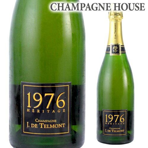 ジ ド テルモンヘリテージ (エリタージュ) ブリュット [1976] 750ml[シャンパン][シャンパーニュ][古酒][ギフト][記念 祝い][プレゼント]]