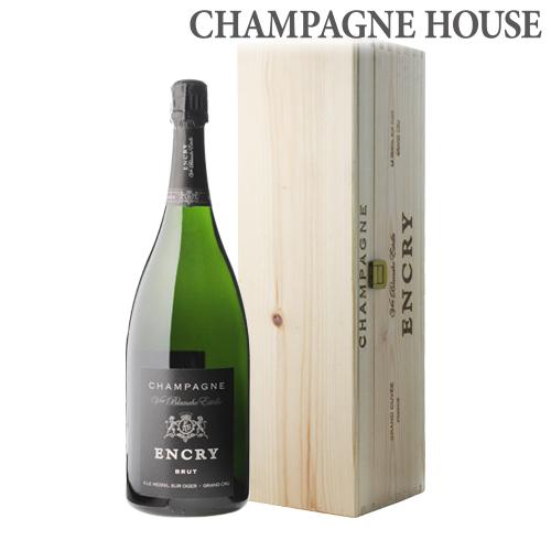 エンクリブリュット ブラン ド ブラン グランクリュ マグナム 1.5L(1500ml) 木箱入[シャンパン][シャンパーニュ][大容量][BOX][プレゼント][ギフト][記念日]