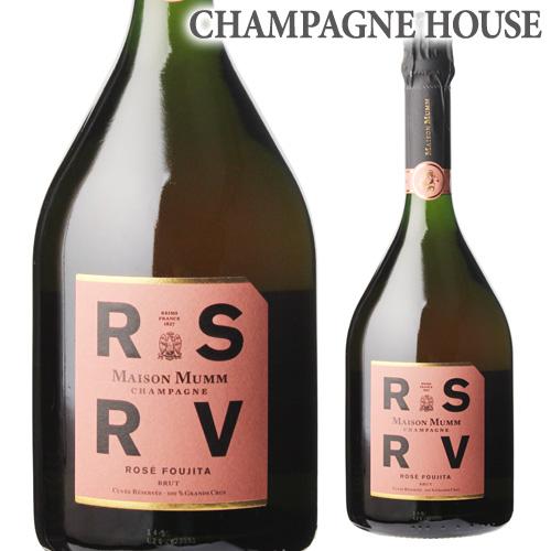 メゾン マム RSRV ロゼ フジタ 750ml [正規品][シャンパン][シャンパーニュ][限定品][アール エス アール ヴイ]
