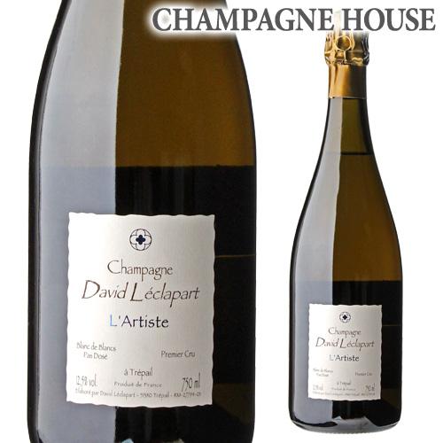 ダヴィッド レクラパールラルティスト ブラン ド ブラン 750ml[シャンパン][シャンパーニュ][自然派ワイン][ヴァン ナチュール][ビオ ディナミ]