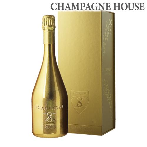インフィニット エイトゴールデン エイジ [2002] 750ml[BOX][限定品][シャンパン][シャンパーニュ][ゴールド][金 ボトル][ギフト][プレゼント]