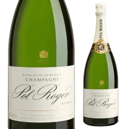 ポル ロジェブリュット レゼルヴ マグナム 1.5L(1500ml) [正規品][シャンパン][シャンパーニュ][ポール ロジェ][大容量]