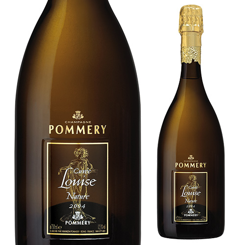 ポメリーキュヴェ ルイーズ ナチュール[2004] 750ml [正規品][数量限定][シャンパン][シャンパーニュ][ヴランケンポメリー][ミレジメ]