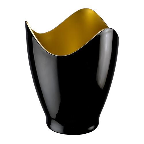 黒 金を配した華やかなワインクーラー ワイン 評価 冷酒 クーラー ワインクーラー 1本用 虎 おすすめ 金
