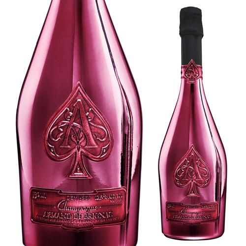 【正規品シャンパン】送料無料 アルマン ド ブリニャック レッド ドゥミセック 750ml限定品 シャンパン シャンパーニュ アルマンド ナイト系