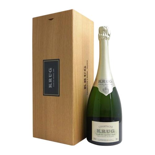 クリュッグ クロ デュ メニル 2000 BOX 750ml 並行品 木箱入 限定品 シャンパン シャンパーニュ 成人