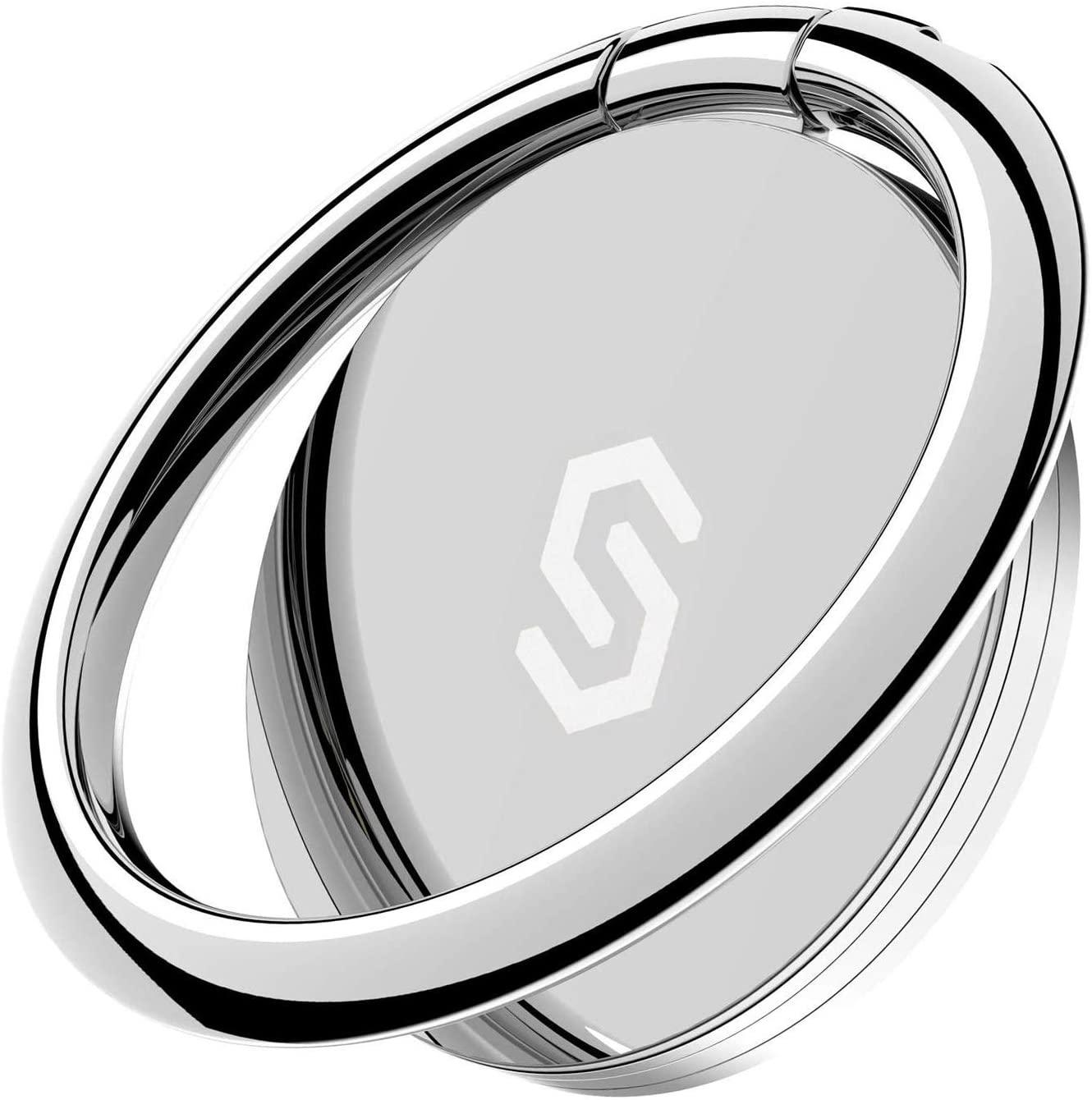 Syncwire 正規品送料無料 スマホリング 正規品 おしゃれ 薄型 スーパーセール期間限定 360°回転 定番 バンカーリング 落下防止 スタンド機能