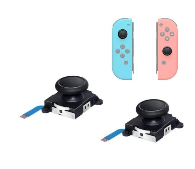 ジョイコン 修理 高品質 Nintendo Switch 任天堂 スイッチ 保障 新作続 スマブラ スティック 定番 2個セット 修理交換用パーツ 周辺機器 ゲーム コントローラー 青色導線