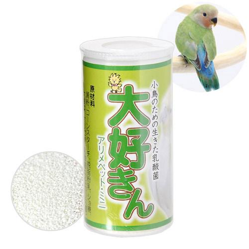 大好きん 小鳥用 アリメペットミニ 12g サプリメント 市販 鳥 6個入り 特価キャンペーン 関東当日便