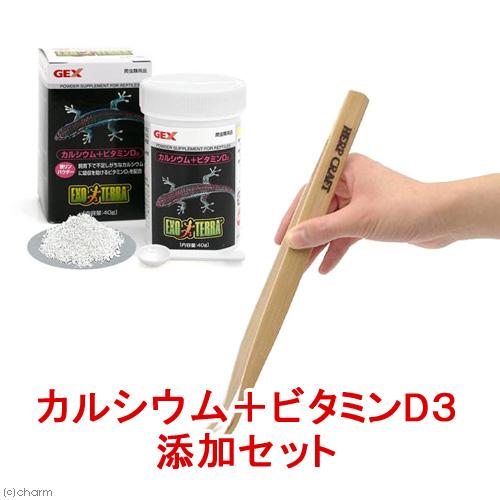 爬虫類 年中無休 両生類 カルシウム ビタミンD3添加セット 関東当日便 初売り
