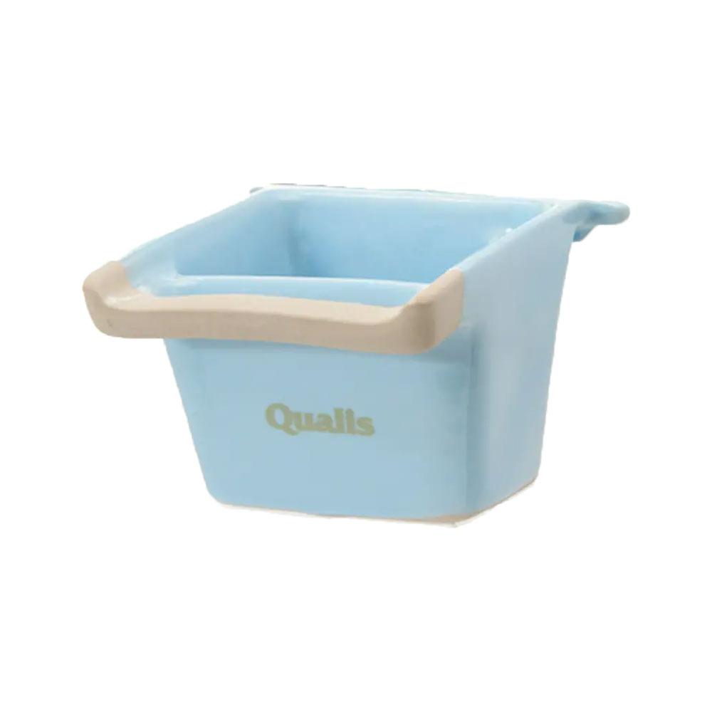 クオリス ポッタリー 衛生的な陶器の食器 350 関東当日便 《週末限定タイムセール》 ブルー 465 超歓迎された