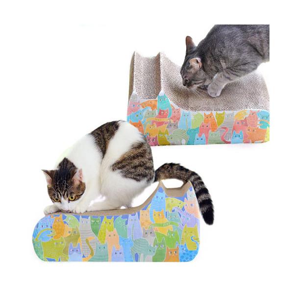 iCat アイキャット 期間限定で特別価格 オリジナル つめとぎ ネコの仲間たち メーカー公式ショップ 関東当日便