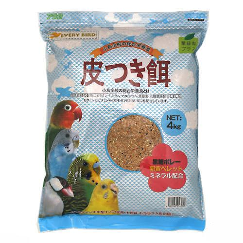 消費期限 2023 08 17 アラタ エブリバード フード 関東当日便 初売り 皮つき餌 新着セール 鳥 4kg お一人様6点限り