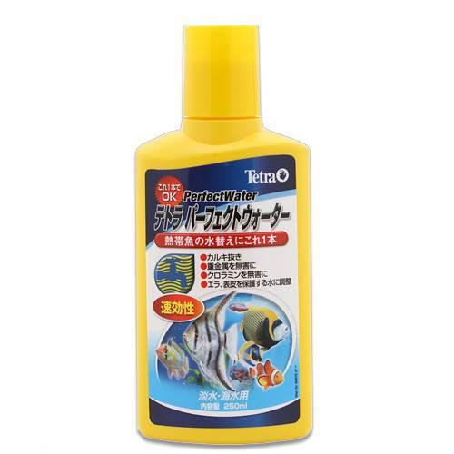 テトラ パーフェクトウォーター 250ml 淡水 再再販 海水用 40%OFFの激安セール 塩素中和 関東当日便 カルキ抜き 粘膜保護