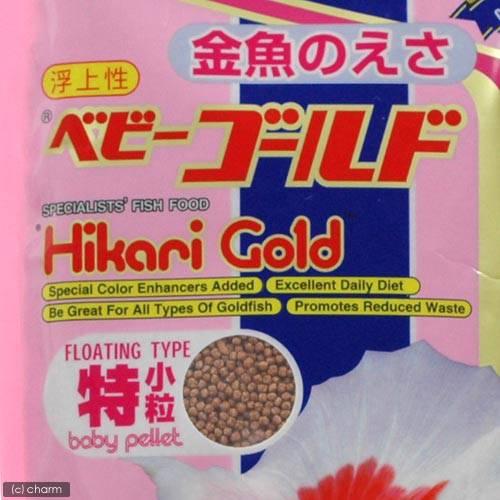 キョーリン ベビーゴールド 特小粒(浮上性)300g 金魚のえさ 5袋入り【HLS_DU】 関東当日便