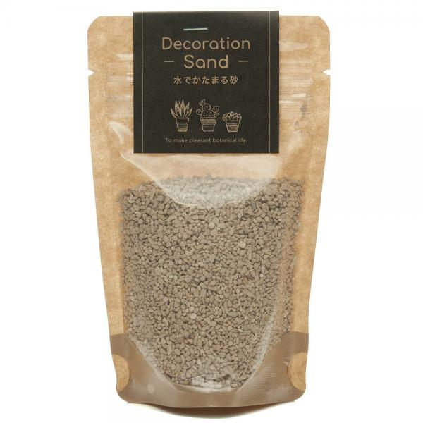 Decoration Sand 水で固まる砂 コーラル 150g 関東当日便