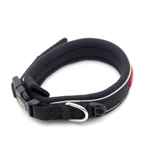 犬 胴輪 イージードッグ ネオカラー XS (首周り28~31cm) ブラック 小型犬用 関東当日便