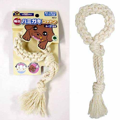 ドギーマン 毎日ハミガキコットン ループ SS 犬 デンタルケア 超激安 いよいよ人気ブランド 犬用おもちゃ 関東当日便