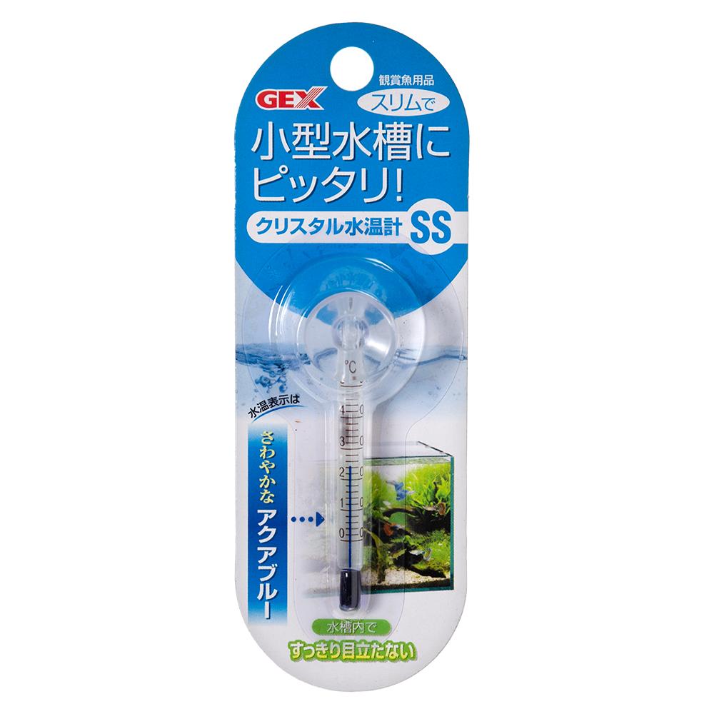 GEX 開店祝い クリスタル水温計 Seasonal Wrap入荷 SS ジェックス アクアブルー 関東当日便