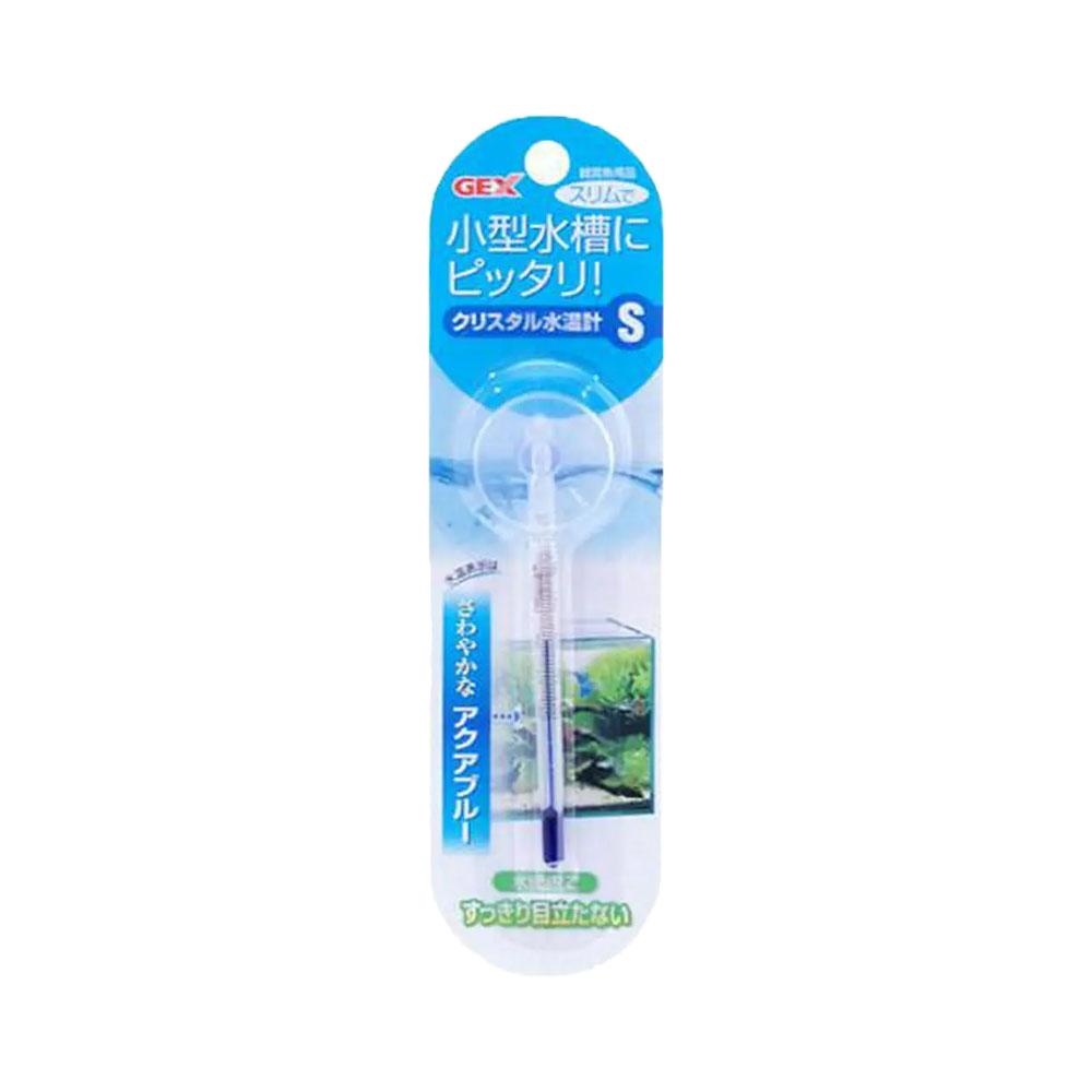 GEX クリスタル水温計 S ジェックス いつでも送料無料 アクアブルー 関東当日便 いよいよ人気ブランド